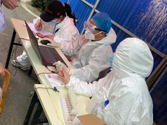 摩天测速:武汉全民核酸检测采样过半摩天测速图片