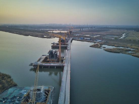 北京至滨海新区城际铁路取得关键突破,一期后年9月通车图片