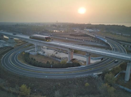 北京至滨海新区城际铁路取得关键突破,一期后年9月通车