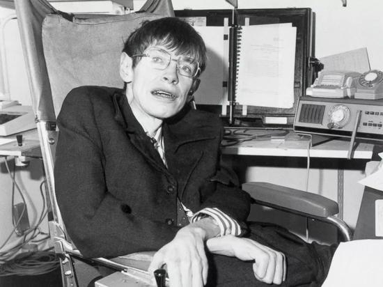 ▲1982年时的霍金(盖帝图像)