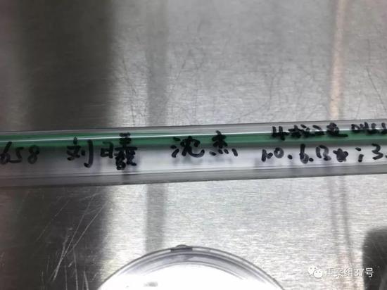 ▲医院里用于转移受精胚胎的导管。 受访者供图