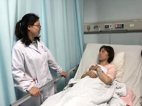 手术后,晓雯病情稳定
