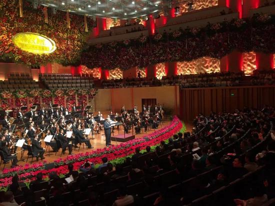 国家大剧院建院10周年音乐会现场