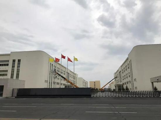 ▲位于珲春国际合作示范区的雅戈尔厂区(图片来源:中国证券报)