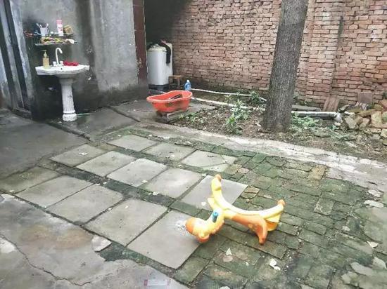 王凤雅家的院子。实习生王露晓摄