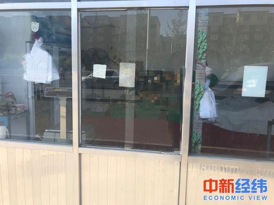 菜店随处可见的免费塑料袋 中新经纬 李晓萱摄