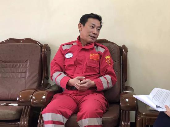 刘向阳向记者回忆救援经历