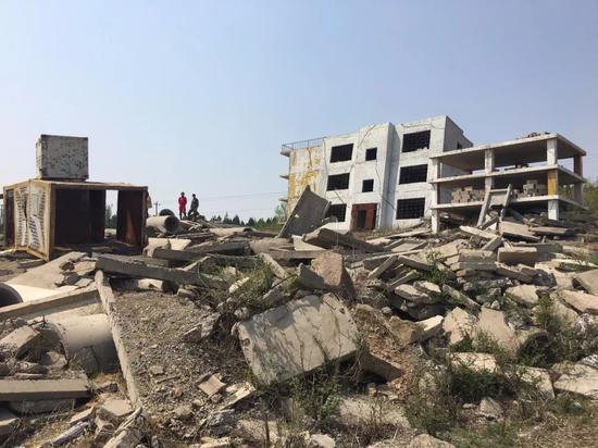 模拟废墟训练场