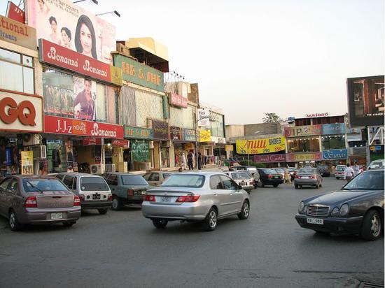 ▲巴基斯坦首都集市 图片来源:维基百科