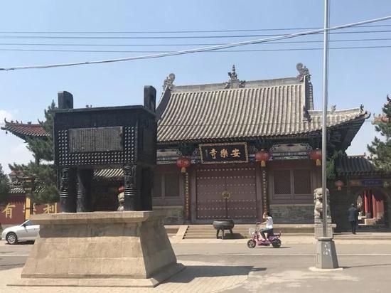 长子县下霍村安乐寺。新京报记者贾世煜 摄