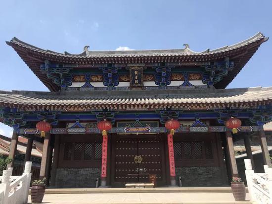 安乐寺观音殿。新京报记者贾世煜 摄