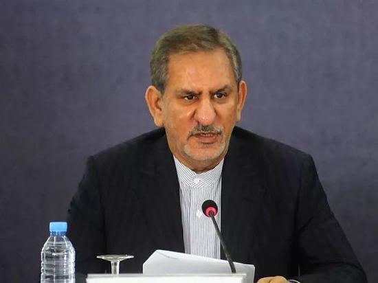 ▲伊朗副總統埃沙格·賈漢吉裡(新華社發)