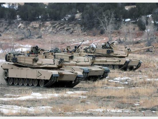 图为M1A2坦克资料图。(来源:多维新闻)