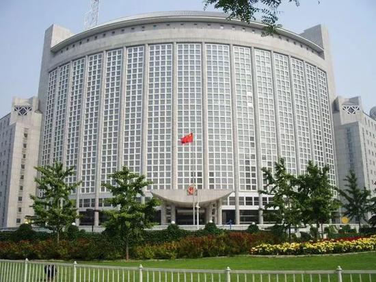 ▲中國外交部大樓(新華社)
