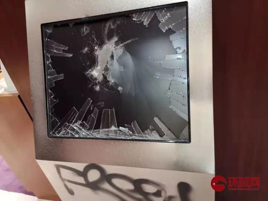 闭路电视被破坏