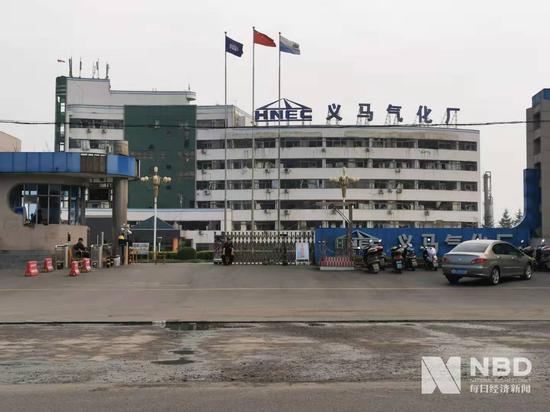 义马气化厂。