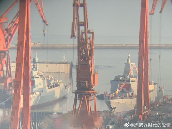 20万吨 今年中国海军下水吨位又是世界第一图片