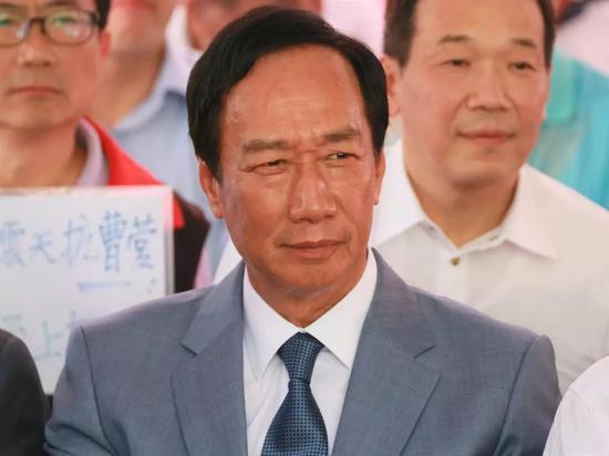 循民进党再起模式 国民党内拱郭台铭参选党主席图片