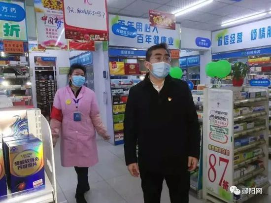 孙道军暗访药店