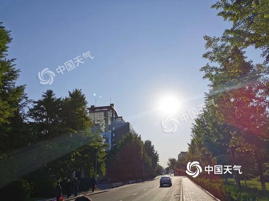 「蓝冠」风落幕28日开始最高气温蓝冠飞升至30℃图片