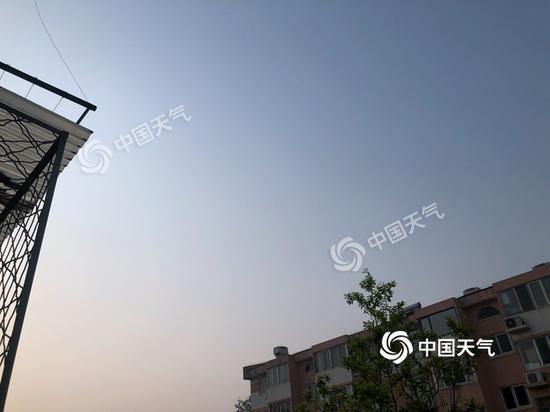 北京今日最高气温35℃ 或破最早高温纪录图片