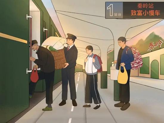"""""""慢火车""""诠释以人民为中心的发展理念图片"""
