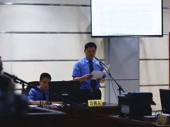 庭审现场 本文图片均来自微信公众号@永州检察