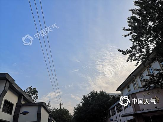 """今天北京最高气温33℃ 未来几天将再遭高温""""烤""""验图片"""