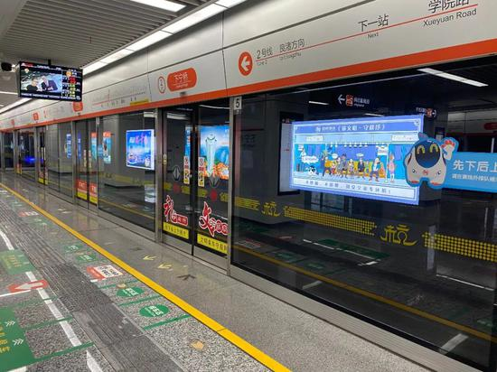 明天上午10点,下宁桥站、火车南站站同步开通!图片
