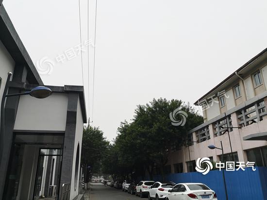 """本周北京降雨仍将频繁""""打卡"""" 今日西部北部有雷雨图片"""