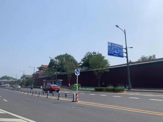 行道上拦路虎杏悦北京20余条道,杏悦图片