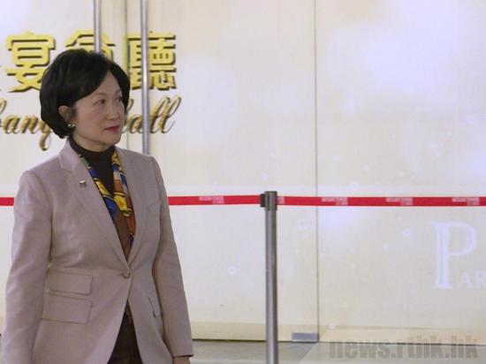 美国宣布制裁林郑等人 香港商经局局长斥:双标 野蛮