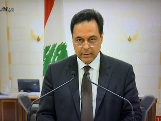 △黎巴嫩总理哈桑·迪亚卜