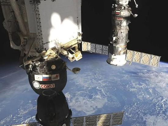 国际空间站。图片来源:俄罗斯卫星通讯社