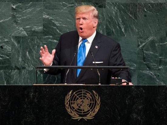 特朗普:联大发言,我对中国有重话要说