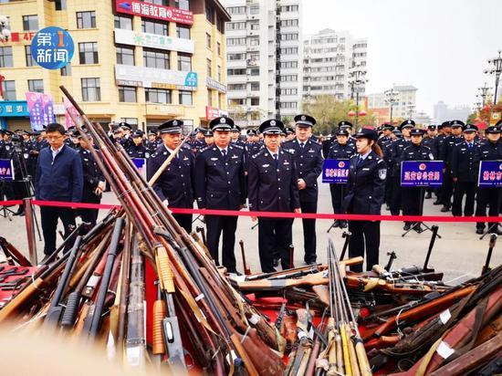 3000余枪枝,陕西会合烧毁!(图1)