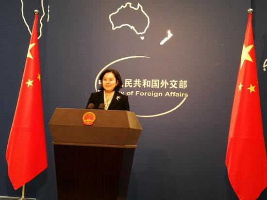反制!外交部宣布在涉港问题上制裁美方四人图片