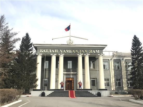 蒙古国国防部。(达日玛巴斯尔拍摄)