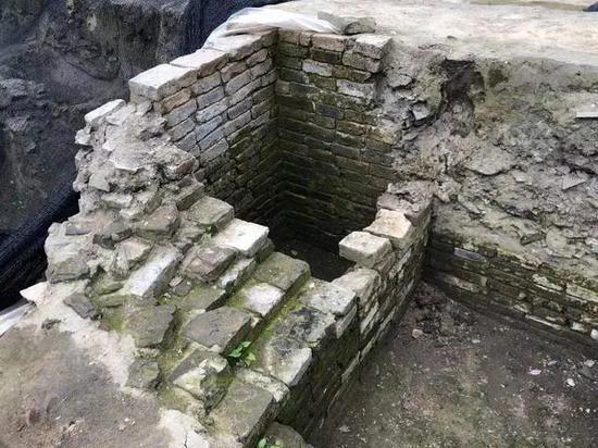 宋代砖构建筑在扬州古城出土