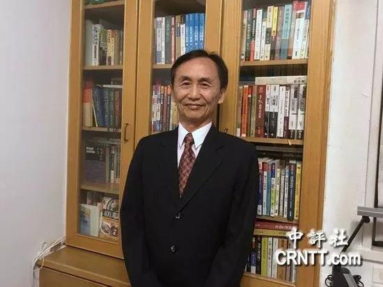 """""""美丽岛电子报""""董事长吴子嘉 图自中评社"""