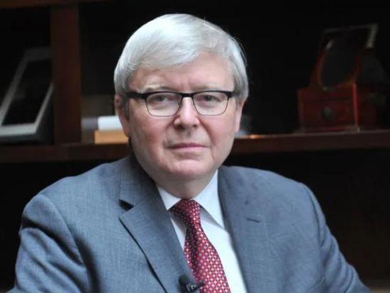 △澳大利亚前总理陆克文(Kevin Rudd)