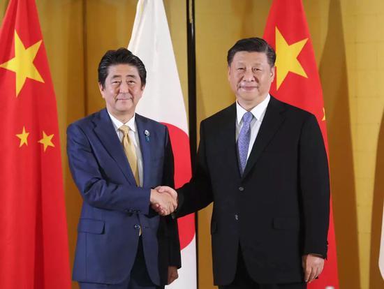 安倍晋三,中日,习近平赴日本出席G20大阪峰会
