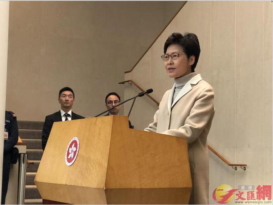 林郑月娥本周六将赴北京述职 报告请示过来一年任务