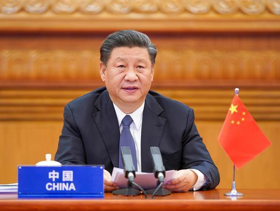 习近平出席二十国集团领导人应对新冠肺炎特别峰会并发表重要讲话图片