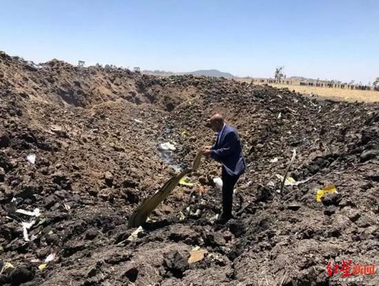 △埃塞俄比亚航空CEO在现场图天游娱乐登录每日邮报