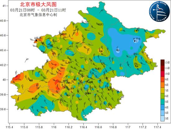 北京今日傍晚到前半夜风渐小 下周最高气温要上21℃图片