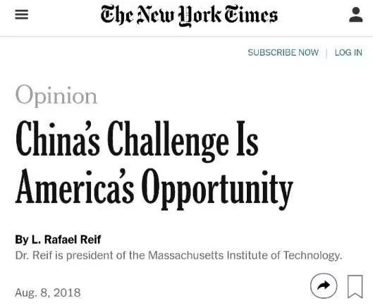 ▲《纽约时报》网站截图