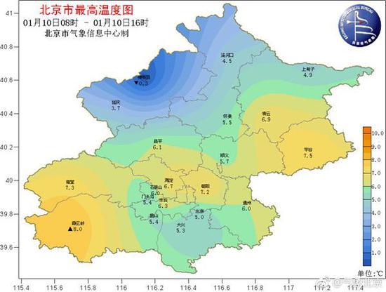 (來源:@氣象北京)
