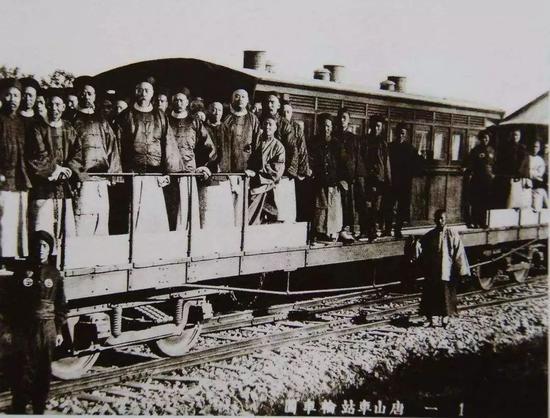 唐胥铁路(汗青档案图片)
