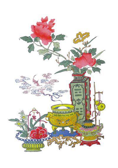 苏州工艺美术职业技术学院桃花坞木刻年画社供图图片